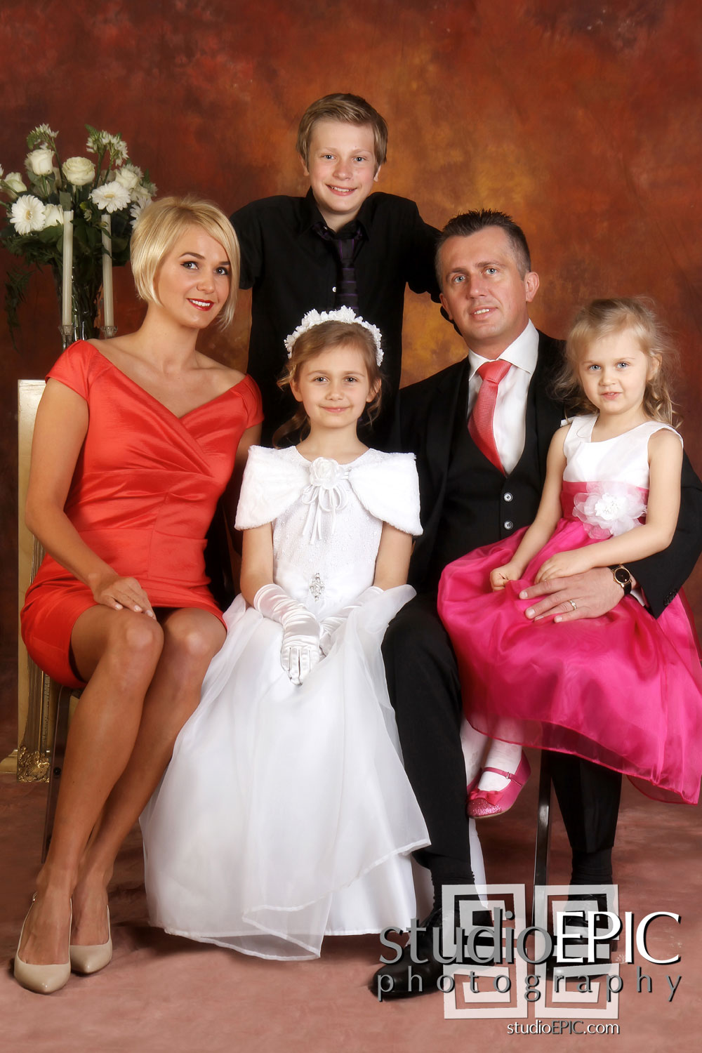 First Holy Communion Photography In Toronto