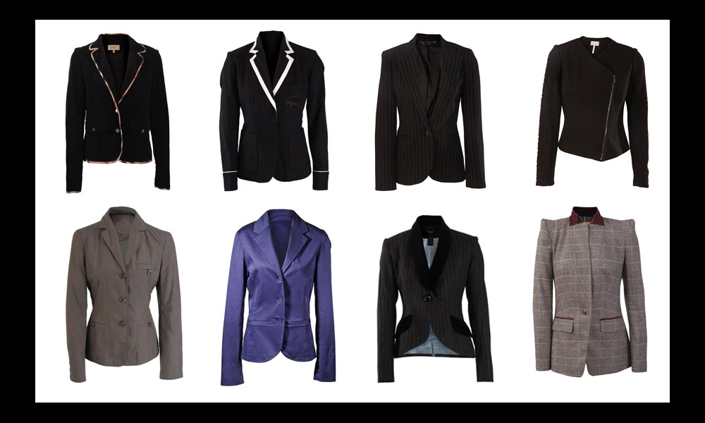 ECommerce Photos of Assorted Blazers