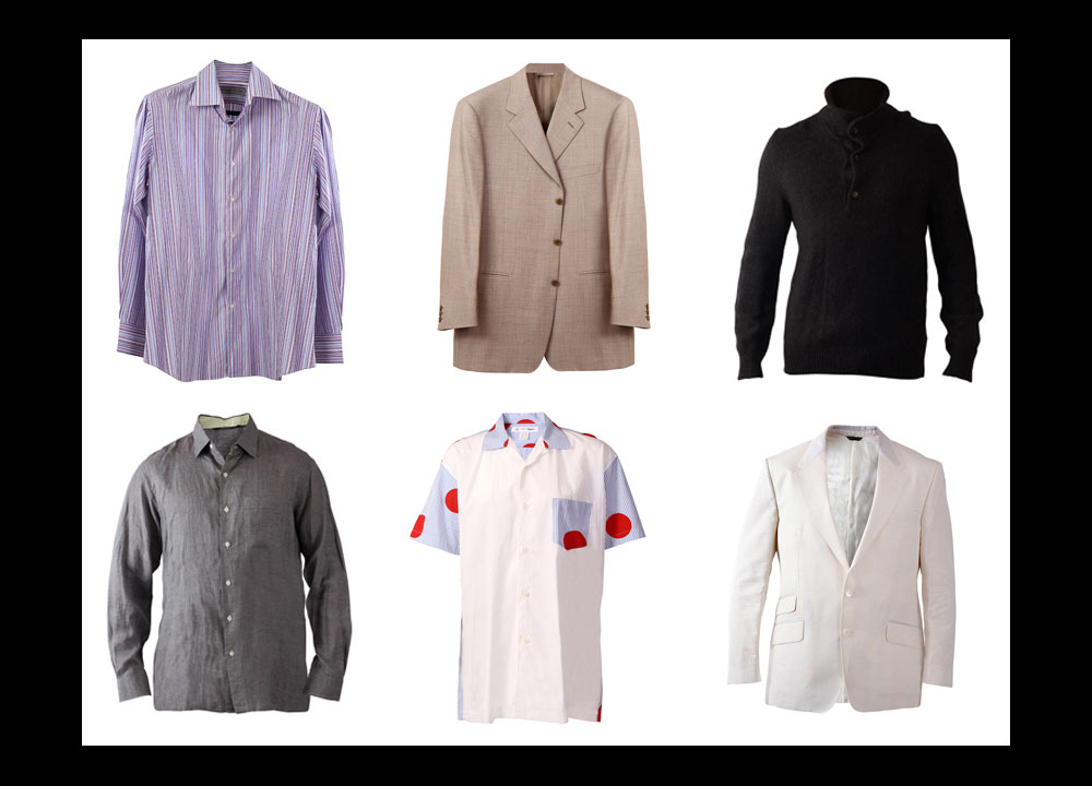 Photos of Men's Clothing and Apparel