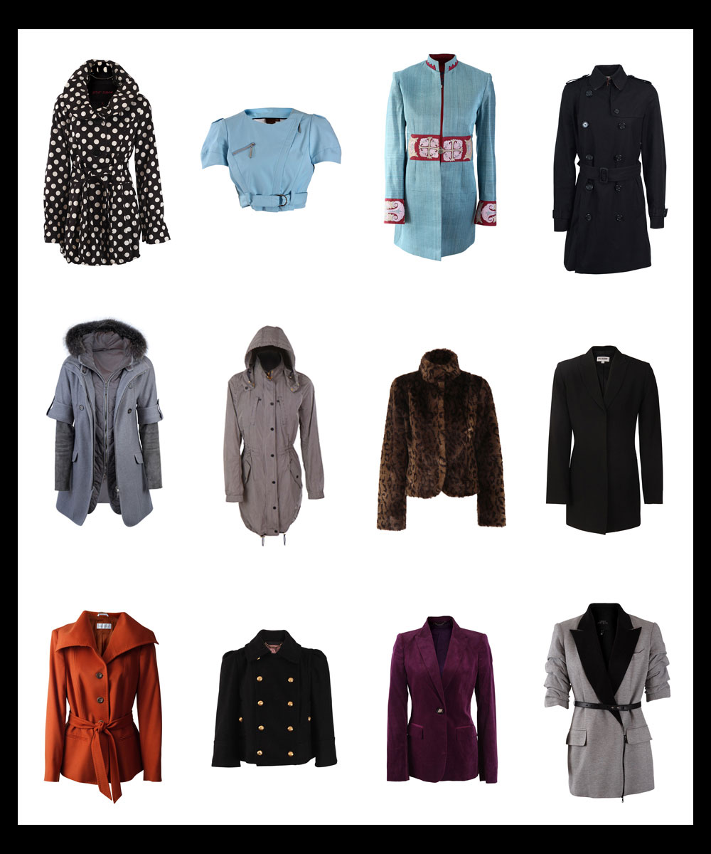 Product ECommerce Photography of Designer Jackets and Coats