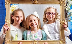 On-Location First Communion Portraits (Sylvia)