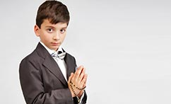 Studio First Communion Portraits (David)