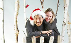 Christmas Studio Family Portraits