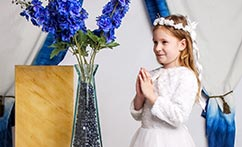 Studio First Communion & Family Portraits (Maya)