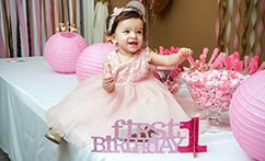 First Birthday Party Coverage
